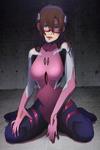 Mari Illustrious Makinami New Plug Suit