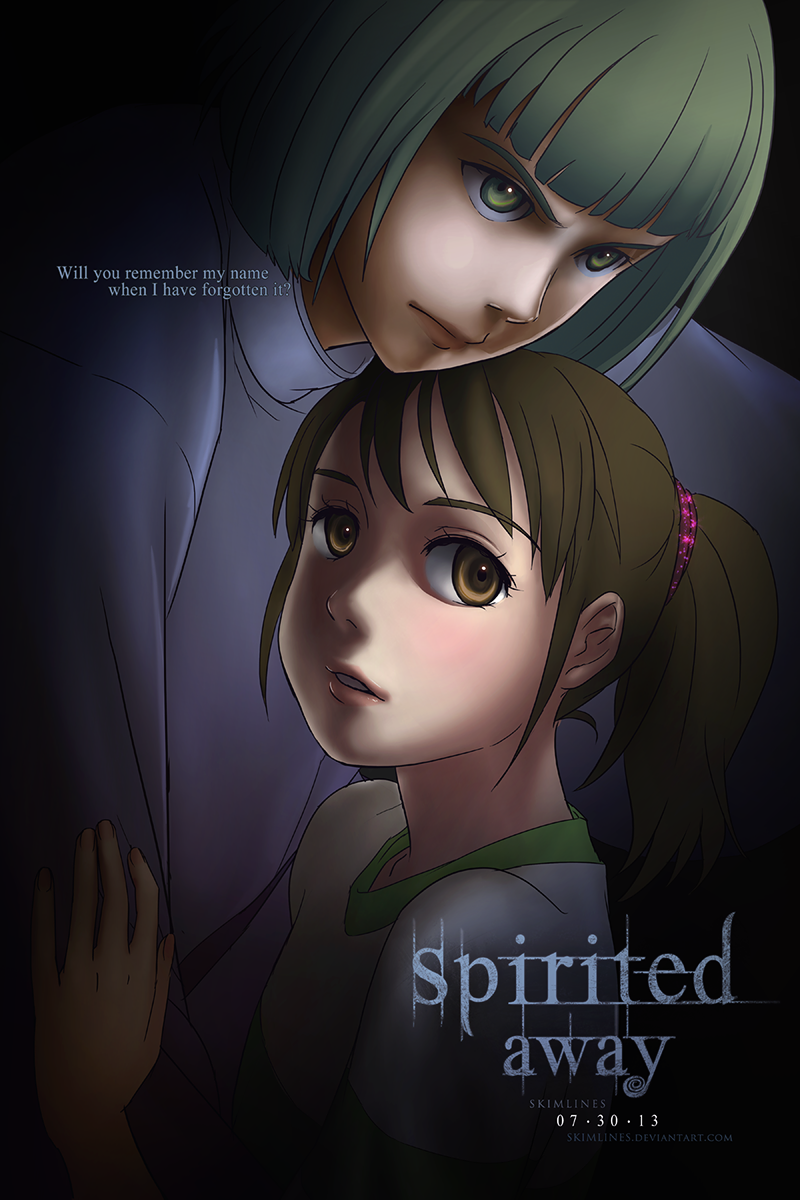 Spirited Away was actually.. by skimlines