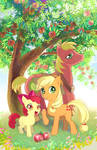 The three apple siblings