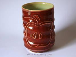 Half apple tea cup by skimlines