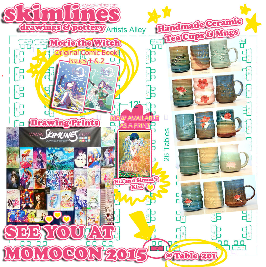 momocon 2015 artist alley by skimlines