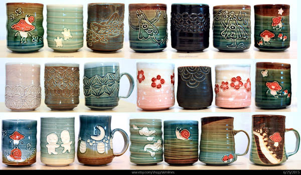 End of June etsy pottery sale