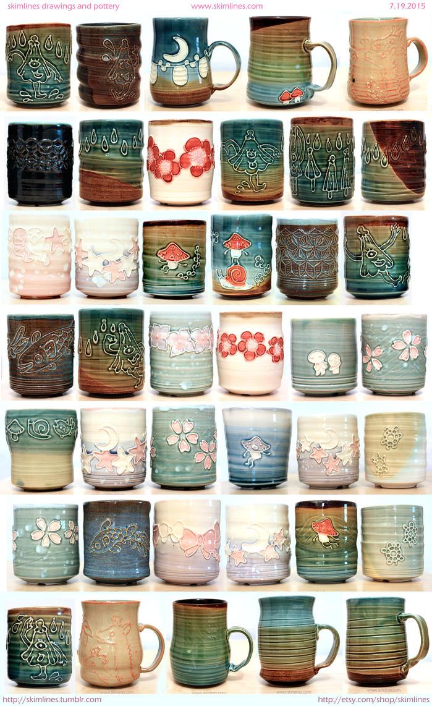 Otakon 2015 tea cups by skimlines