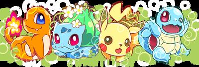PokemonGO starters