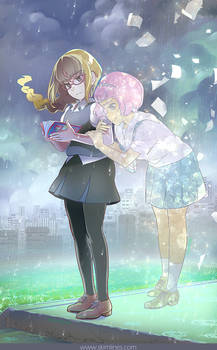 Maki and Ruru and the book they created