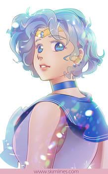 Sailor Mercury is the smartest