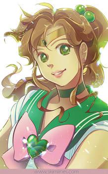 Sailor Jupiter is the kindest