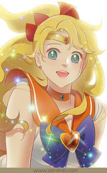 Sailor Venus loves everyone