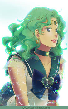 Sailor Neptune queen of the seas