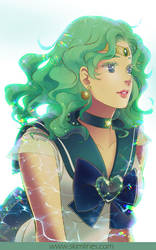 Sailor Neptune queen of the seas by skimlines