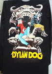 Hand-painted sweater: Dylan Dog by Arferia