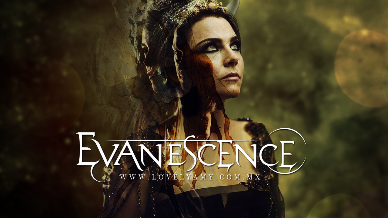 Evanescence Bring Me To Life Synthesis Wallpaper by lovelyamyweb