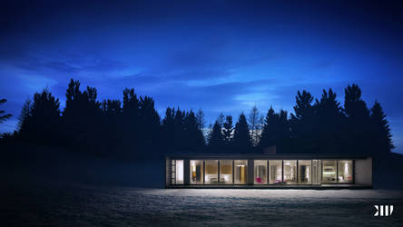 Winter House I by Black-Haus