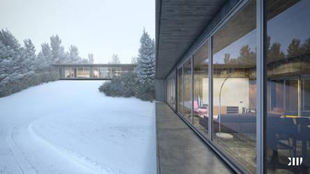 Winter House II by Black-Haus