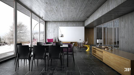 Winter House VII by Black-Haus