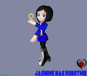 [Commission#1] Jasmine Mae Robotnik 3D by xXAlshaniXx
