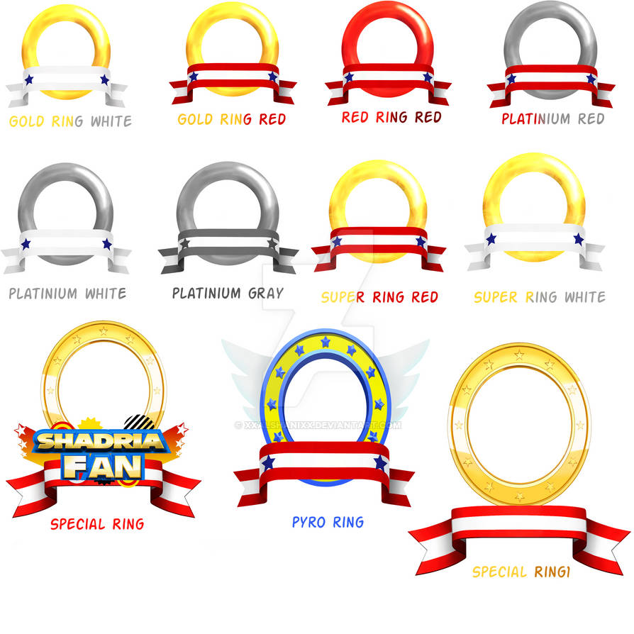 MY 3D Ring Banner Set by xXAlshaniXx