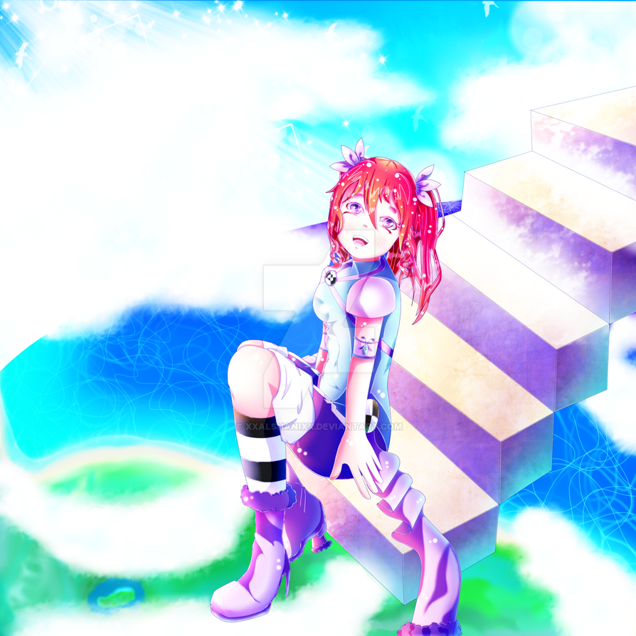 [AT Stairs In The Sky]  (Mysterika) by xXAlshaniXx
