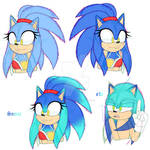 Aleana And Sonic's Kids [Part 2]