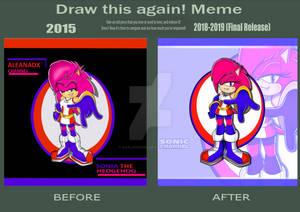 Draw This Again Meme! Sonia
