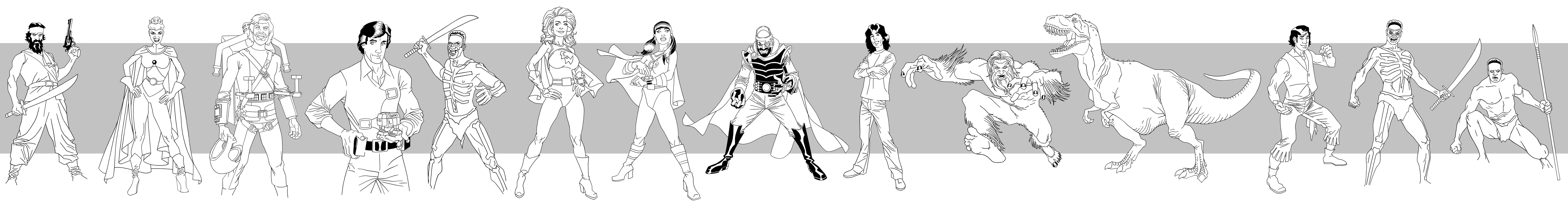 Saturday Morning Line-Up by dusty-abell
