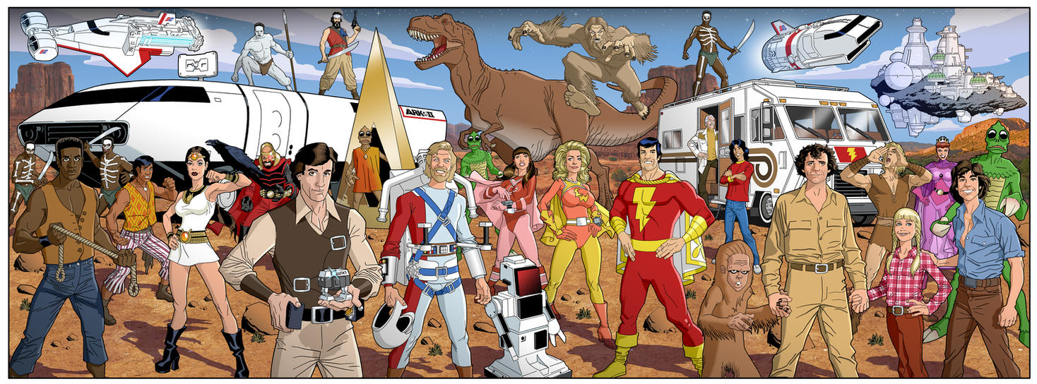 Sat Morning Action Adv. TV by dusty-abell