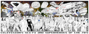 TV's Sci-Fi and Superheroes
