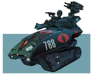 G I Joe Resolute Hiss Tank by dusty-abell