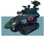 G I Joe Resolute Hiss Tank