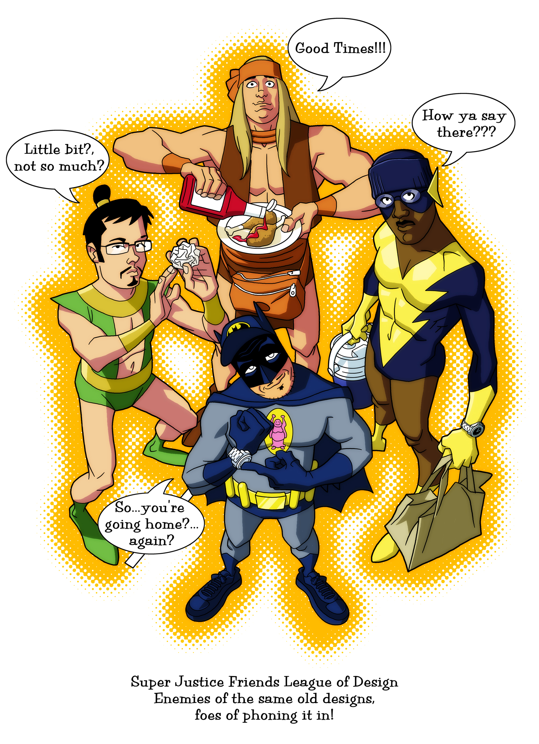 Super Justice Friends League by dusty-abell