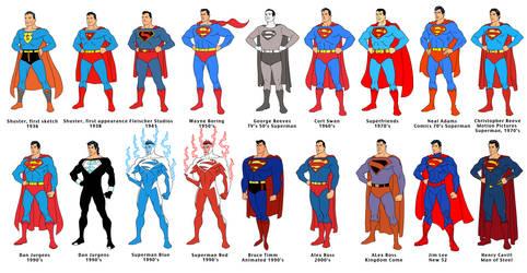 Superman 75 line-up