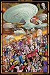 Next Generation 30th Anniv. 27x40 print FOR SALE