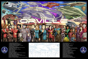 The Orville 27 x 40 print!