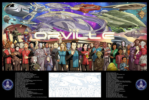 The Orville 27 x 40 print!