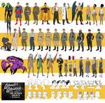 Justice Society WW2 Character Designs