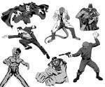 assorted marvel villains
