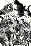 50's sci-fi horror and fantasy