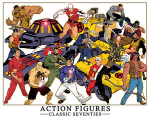 ACTION FIGURES, CLASSIC 70'S