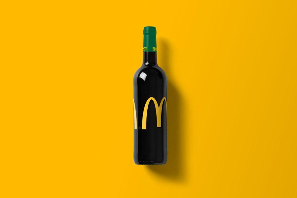 mcdonalds wijn