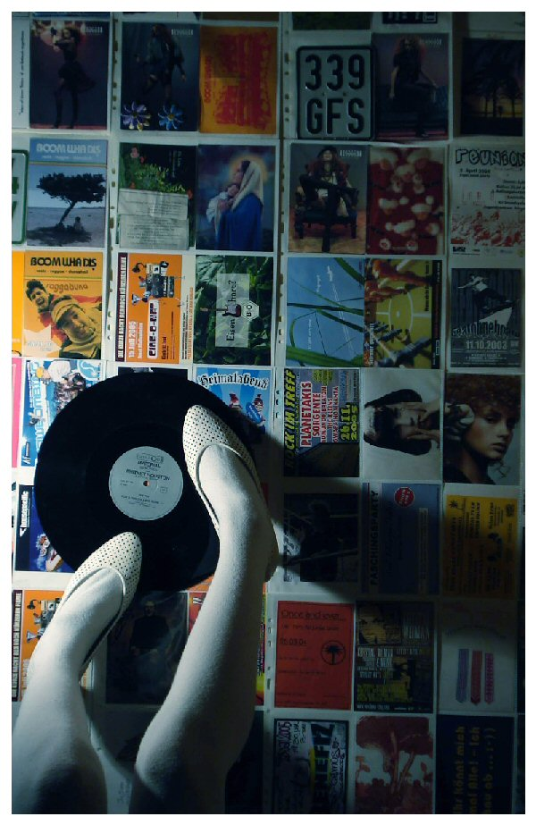 .shoes vs. music