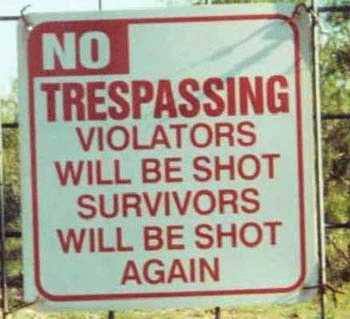 Funny Sign by OwlsRuleThisWorld