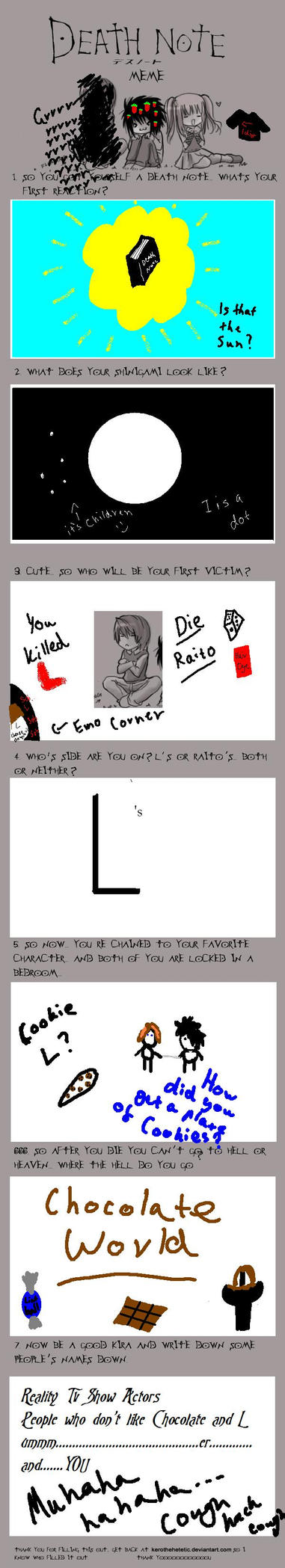 Death Note Meme by OwlsRuleThisWorld