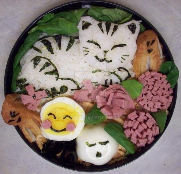 kitty bento, delicious by susanlin