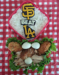 SF Giants lunch box by susanlin
