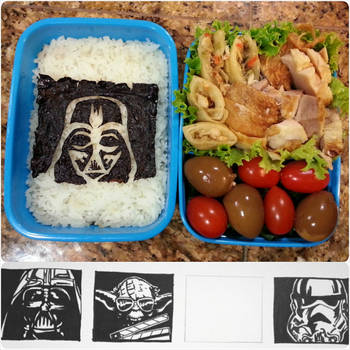 Star Wars Lunch and Sketches by susanlin
