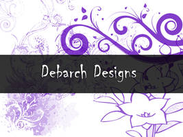 Flower and Swirl Brushes by debarch