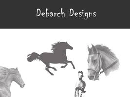 Horse Brushes by debarch