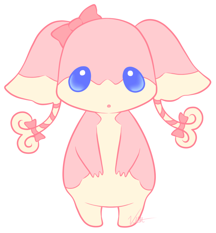 Girly Audino by Vellvette