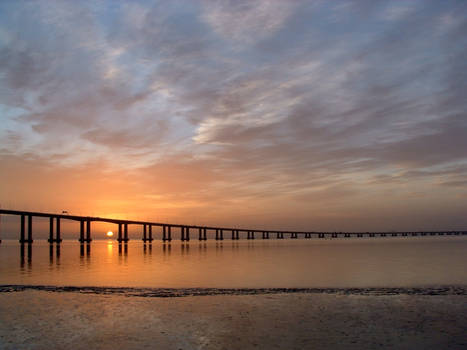 Sunrise over Vasco da Gama