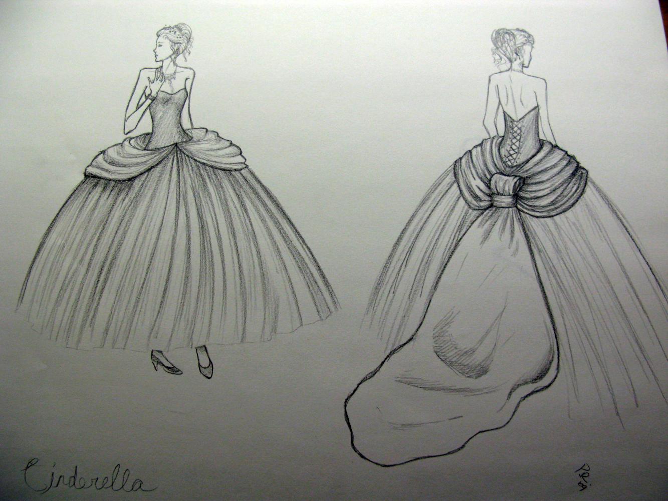 Cinderella Ball Gown Wedding Dress | Car Interior Design